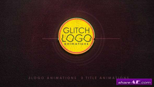 Videohive Glitch logo 19910641