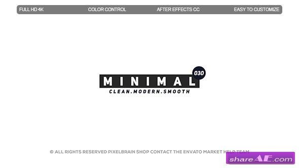 Videohive Minimal Titles II