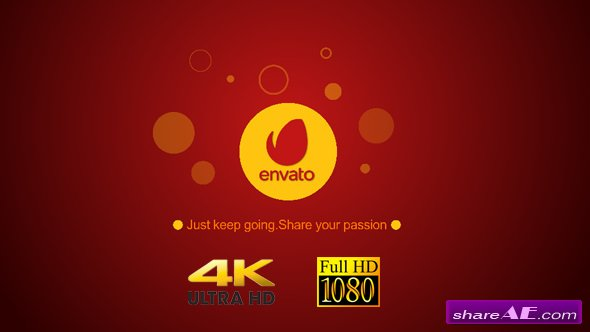 Videohive Simple Countdown Shape Logo