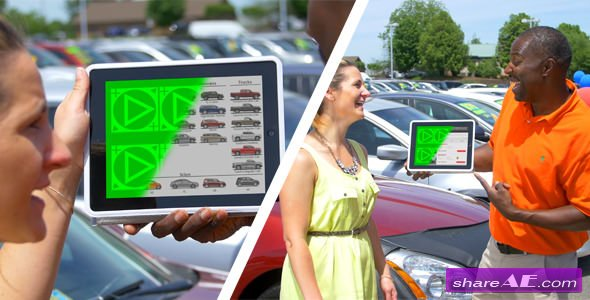 Videohive Auto Dealer ScreenDub Bundle