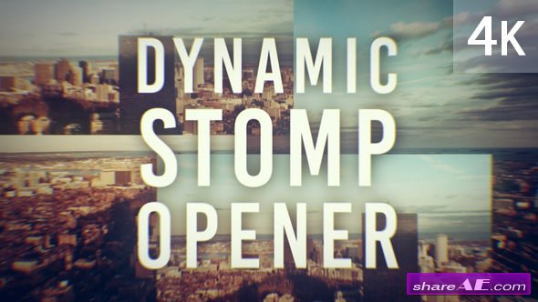 Videohive Dynamic Stomp Opener