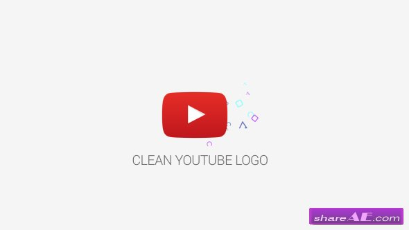 Videohive Clean Youtube Logo