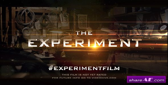 Videohive Cinematic Trailer Experiment