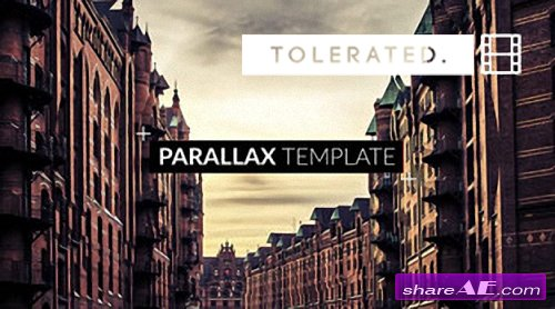 Parallax Slideshow - After Effects Template (TOLERATED CINEMATICS)