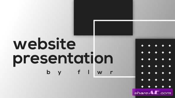 website presentation free after effects templates after effects