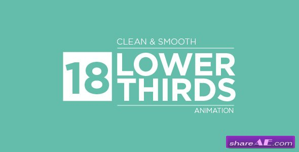 Videohive Lower Thirds 20633452