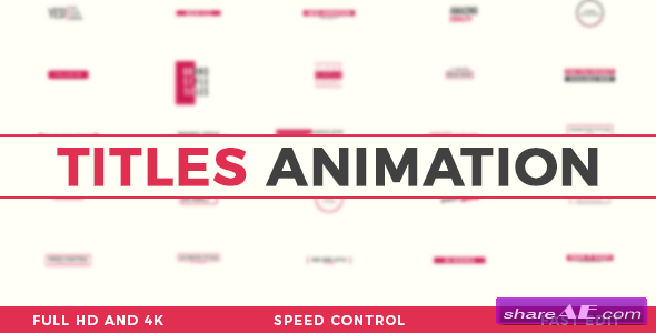 Videohive Titles Animation 20676995