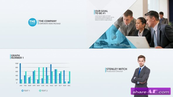 Videohive The Company - Corporate Video Package