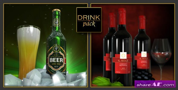 Videohive Drink Pack 2-in-1