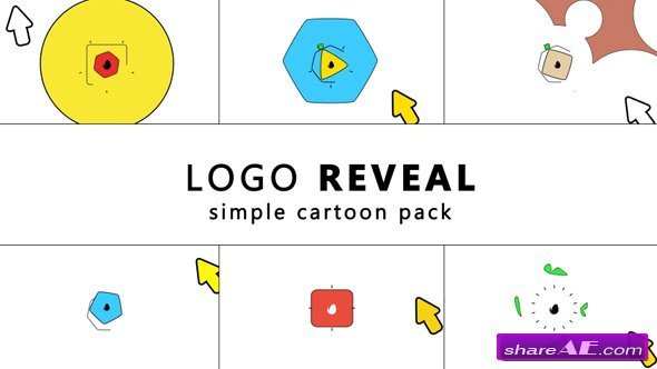 Videohive Simple Cartoon Logo Reveal