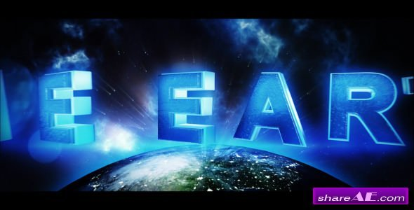 Videohive The Earth - Trailer