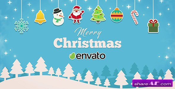 Videohive Short Christmas Intro