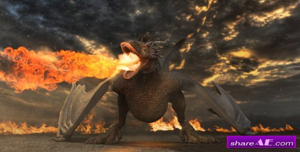 Videohive Dragon Logo Reveal