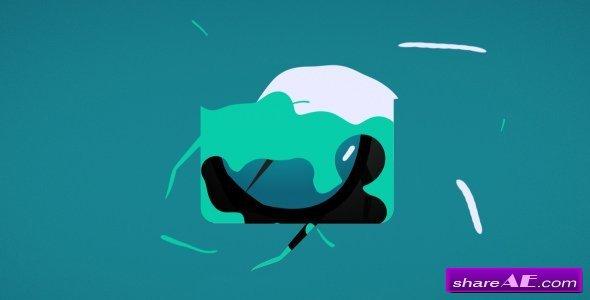 Videohive Liquid Logo Revealer