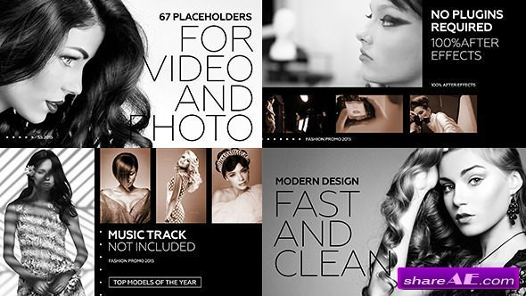 Videohive Black Fashion Promo