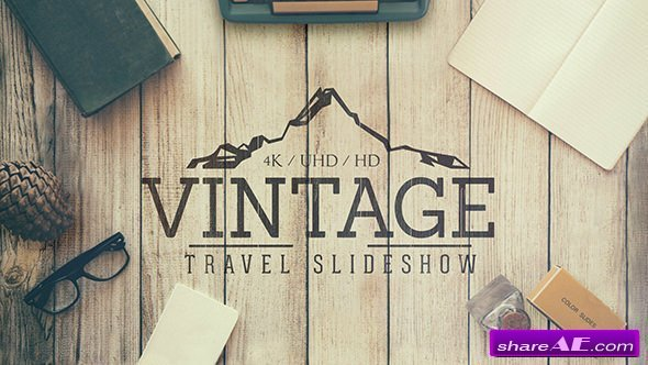 Videohive Vintage Travel Slideshow