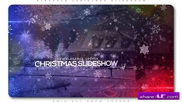 Videohive Elegant Christmas Slideshow