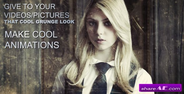 Videohive Urban Explorer - Grunge Animations