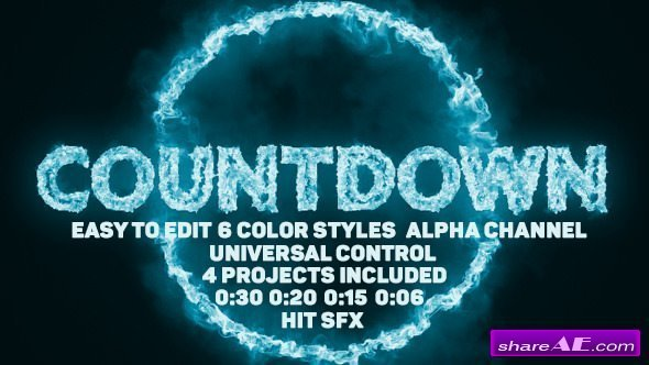 Flame free after effects templates after effects intro template videohive pyro countdown maxwellsz