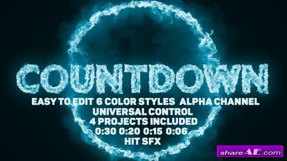 Videohive Pyro Countdown