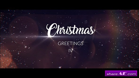 Videohive Christmas Greetings IV
