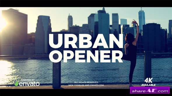 Videohive Urban Opener 20949693