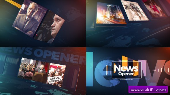 Videohive News Opener 20952510