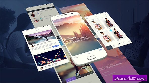 Videohive Android App Presentation Template