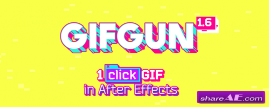GifGun - Plugin for After Effects