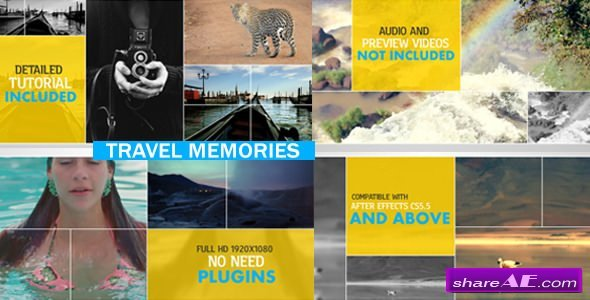 Videohive Travel Memories