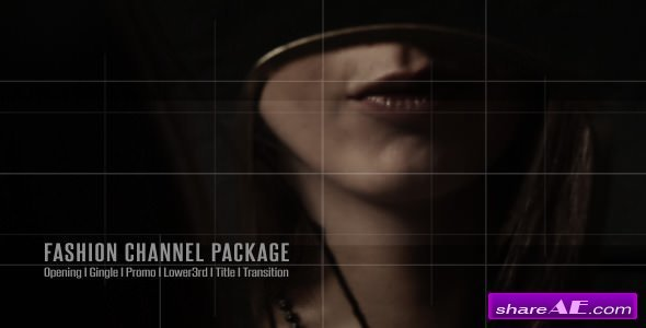 Videohive Broadcast Design - Fashion Channel Package