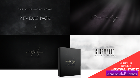 Videohive Cinematic Logo Reveals Pack