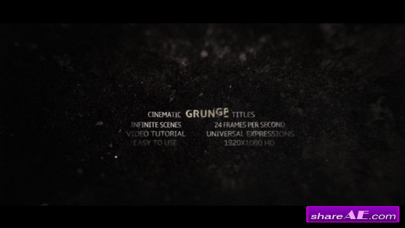 Videohive Grunge Titles