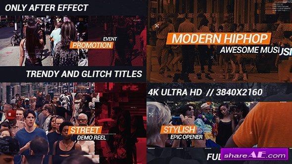 Videohive HipHop Urban Opener