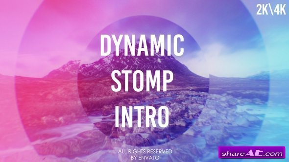 Videohive Dynamic Stomp Intro