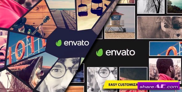 Videohive Photo Mosaic Logo