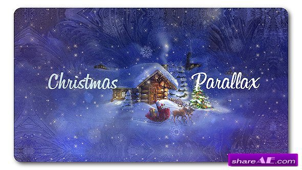 Videohive Christmas Parallax Slideshow