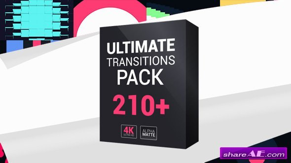 Videohive Ultimate Transitions Pack 4K