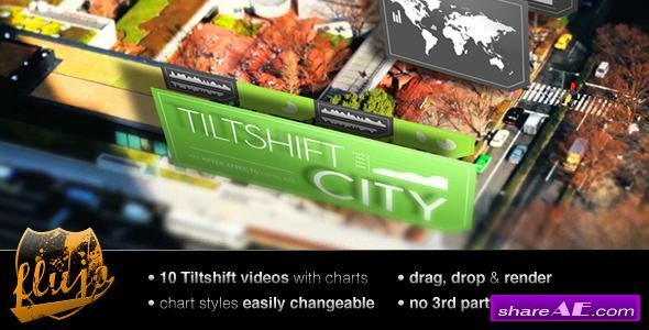 Videohive Tilftshift City