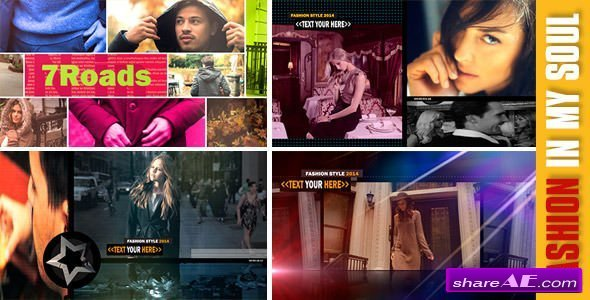 Videohive Fashion in My Soul