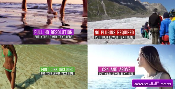 Videohive Clean Minimal Slideshow