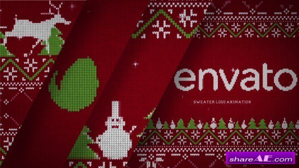 Videohive Christmas Sweater Logo
