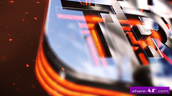 Videohive Glass Fluid Logo Reveal