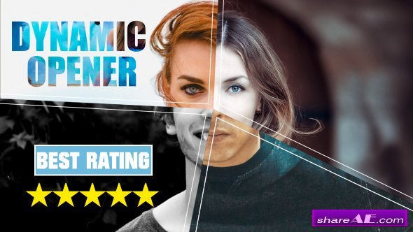 Videohive Dynamic Opener // Short Promo