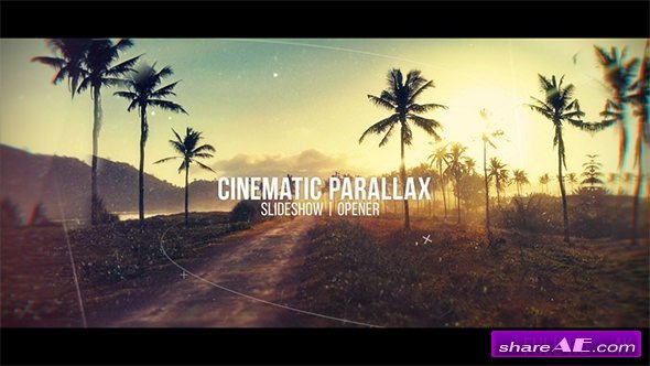 Videohive Cinematic Parallax Slideshow 20481472