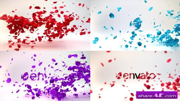 Falling Flower Petals Videohive Free After Effects Templates