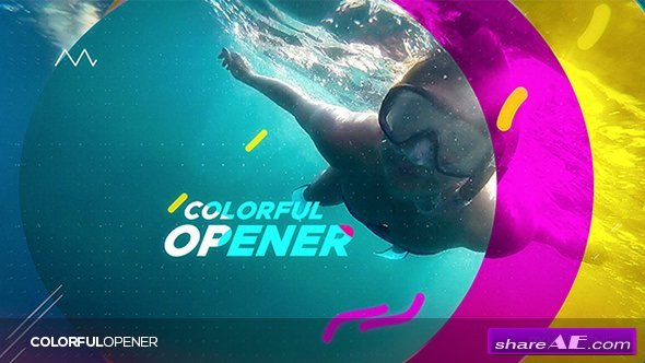 Videohive Colorful Opener 20367299