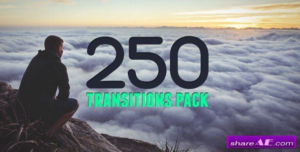 Videohive 250 Transitions Pack