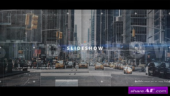 Videohive Cinematic Slideshow 20742979