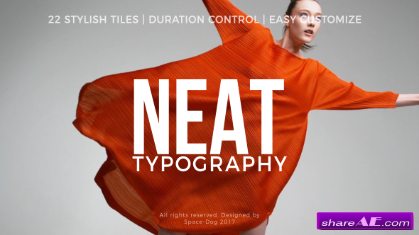 Videohive Neat Titles